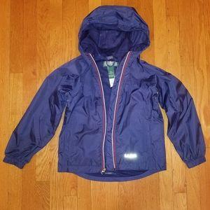 LL Bean Rain Jacket Gear Size 8
